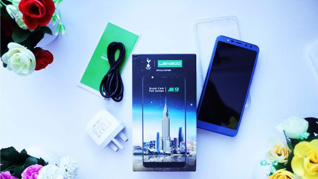 Leagoo M9: Items in the box