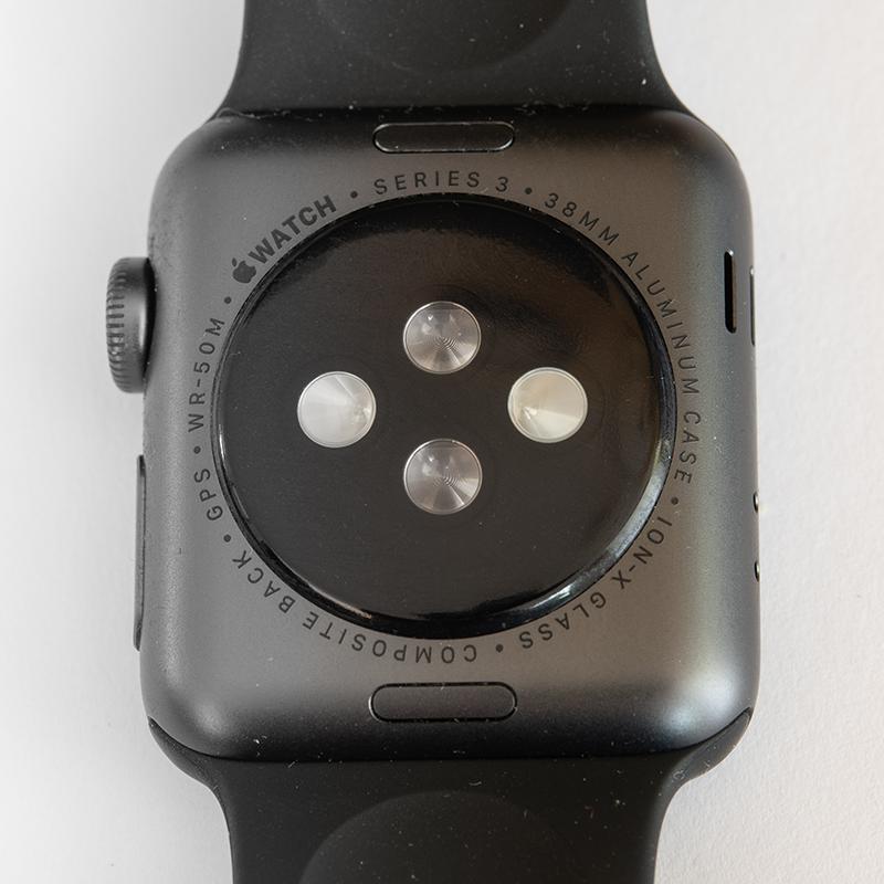 Sensors on an Apple Watch