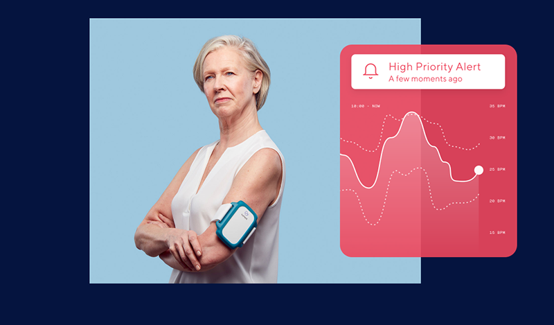 Wearable device for remote patient monitoring
