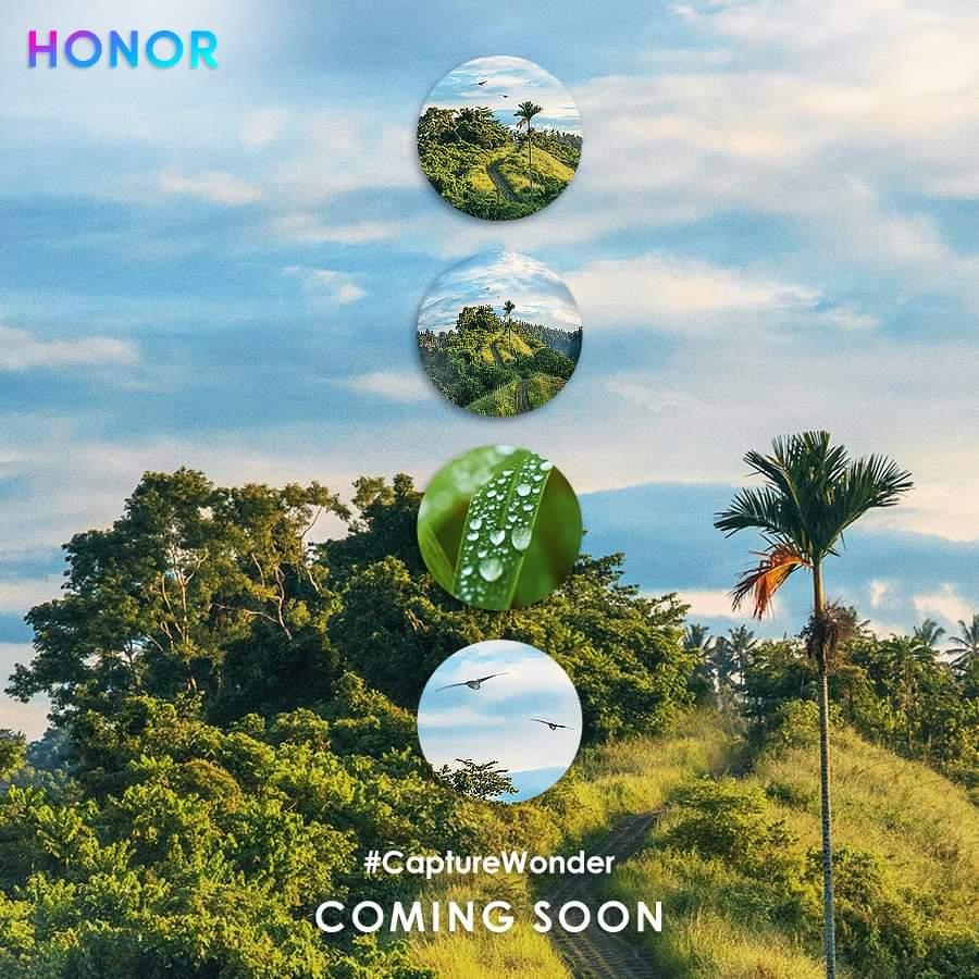 Honor 20 series poster