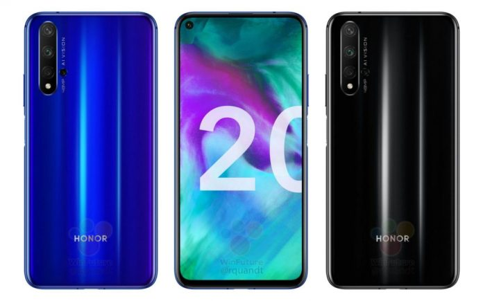 Honor 20 specifications, renders and live shots leaked ahead of launch