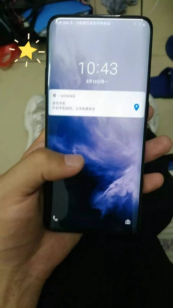 OnePlus 7 Pro hands-on images reveal its front and rear design