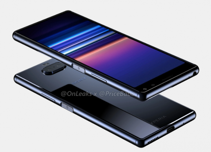 Sony Xperia 20 renders leak its design from all angles