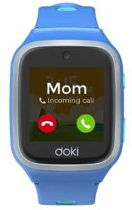 new kids smartwatch from doki launched today 2 188x300 - dokiPal is a 4G/LTE kids smartwatch with video calling, location tracking & more