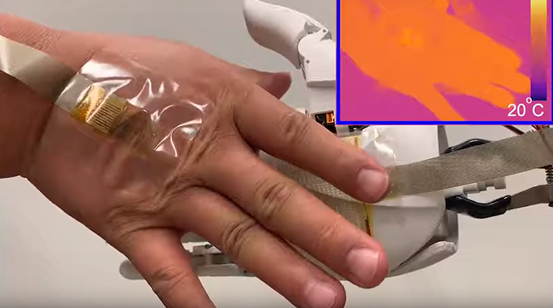 Super thin wearable for healthcare