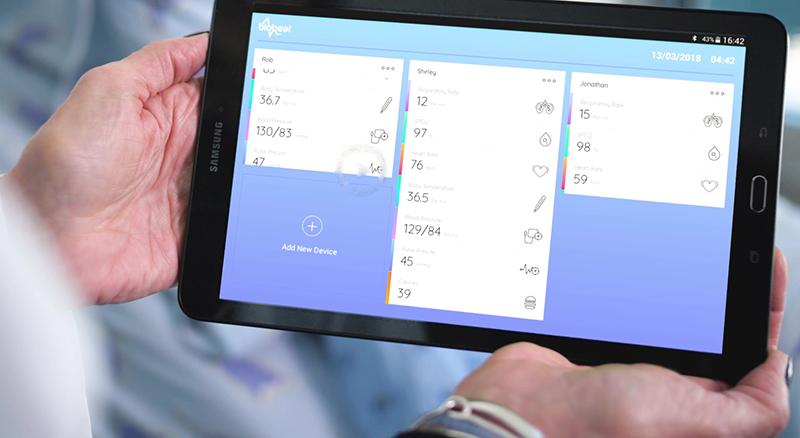Blood pressure monitoring app