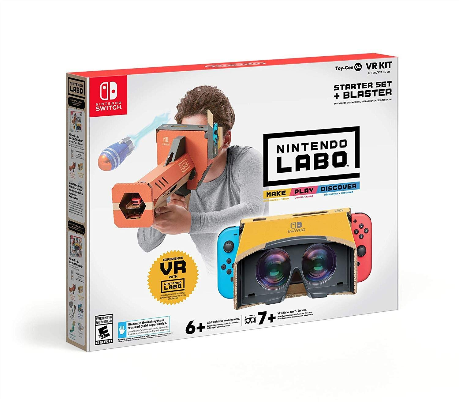 Nintendo releases A VR Switch Headset