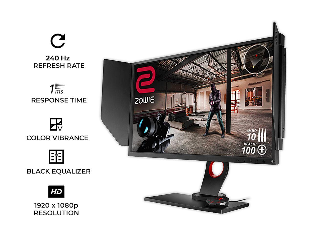 BenQ Zowie XL2540 Review: 240Hz Gaming Monitor